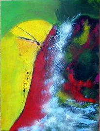 Natur, Di vora anneliese, Acrylmalerei, Bunt