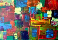 Malerei, Abstrakt, Geometrie,