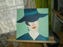 Malerei, Figural, Grande, Madame