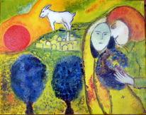 Bunt, Divo, Ölmalerei, Di vora anneliese