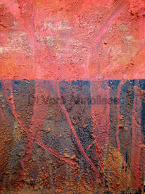 Struktur, Acrylmalerei, Lava, Feuer