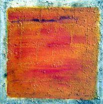 Pigmente, Di vora anneliese, Orange, Malerei