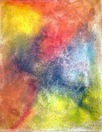 Pigmente, Acrylmalerei, Stein, Struktur