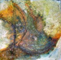 Ölmalerei, Struktur, Wachs, Riss