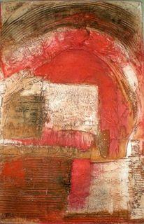 Marmor, Di vora anneliese, Ölmalerei, Tor