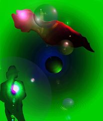 Mygall, Digitale malerei, Psychedelisch, Digitale kunst