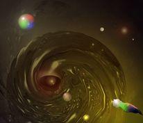 Universum, Vorfall, Digitale kunst, Malerei