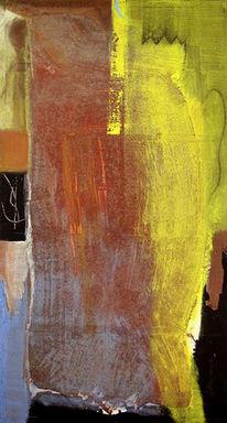 Temperamalerei, Malerei, Engel, Abstrakt