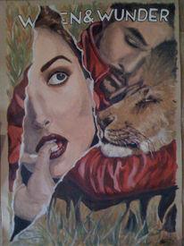 Löwe, Malerei, Tiere, Wissen
