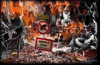 Affe, Feuer, Tod, Primaten