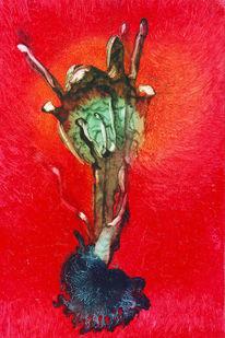 Ölmalerei, Tradition, Schamane, Feucht