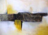 Mischtechnik, Abstrakt, Malerei