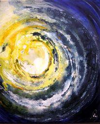 Pigmente, Abstrakt, Acrylmalerei, Sand