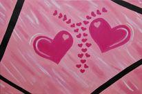 Formen, Symbol, Pink, Abstrakt