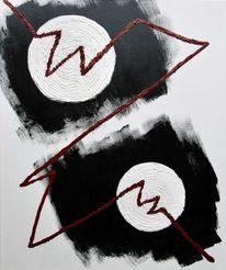 Spirale, Blut, Rot, Rot schwarz