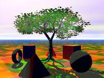 Geometrische figuren, Braun, Gegensatz, Abstrakt