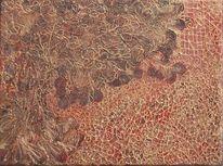 Struktur, Baum, Gold, Abstrakt