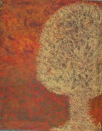 Relief, Orange, Gold, Natur