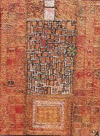 Tür, Relief, Gold, Struktur