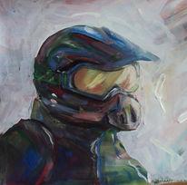 Motocross, Helm, Malerei