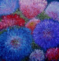 Impressionismus, Farben, Astern, Malerei