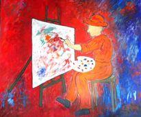 Rot, Malen, Malerei