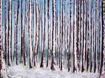 Weite, Winter, Blau, Kälte