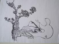 Anderswelt, Insel, Schweben, Zeichnungen