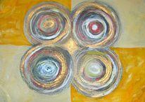 Licht, Gold, Kreis, Energie
