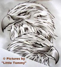 Zeichnungen, Adler
