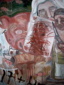 Malerei, Menschen, Sohn
