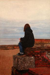 Figur, Rügen, Realismus, Landschaft
