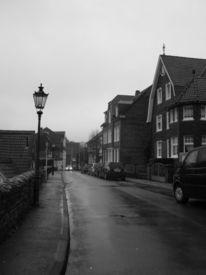 Straße, Schwarzweiß, Fotografie