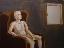 Menschen, Kreide, Sessel, Fenster