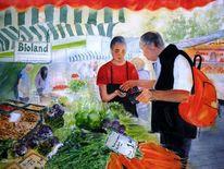 Münster, Markt, Prinzipalmarkt, Obst gemüse