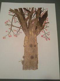Herbst, Baum, Zeichnungen