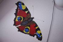 Malerei, Schmetterling, Natur, Pfauenauge