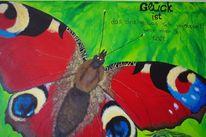 Schmetterling, Tagpfauenauge, Natur, Malerei