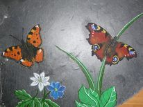 Natur, Schmetterling, Portrait, Malerei