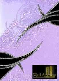 Weiblicher drache, Shedragonc, Lila, Modern