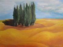 Malerei, Toskana