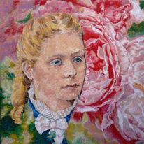 Portrait, Pianist, Klavier, Rose