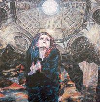 Suche, Seele, Symbolismus, Frau