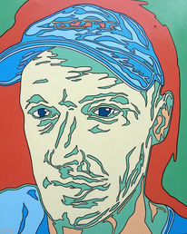 Portrait, Menschen, Ölmalerei, Gemählde