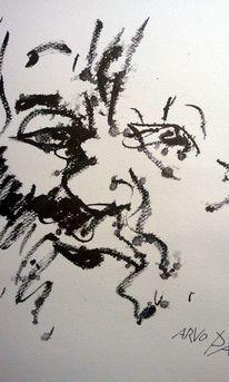 Gesicht, Flüchtig, Musiker, Zeichnungen