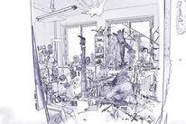 Chaos, Werkechaos, Digitale kunst, Atelier
