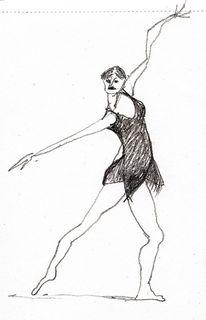 Tanz, Ballett, Röckchen, Zeichnungen