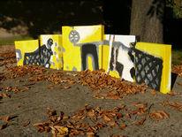 Schwarz, Gelb, Herbst, Fotografie