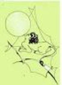 Illustration, Zeichnung, Sphinx, Grafik