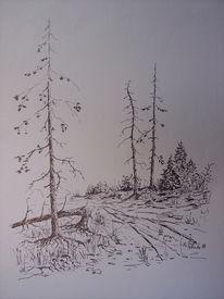 Zeichnungen, Verlorene zeit, Tod